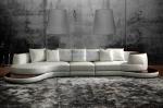 луксозен заоблен дизайнерски диван по поръчка